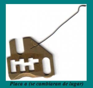 CAMBIOS COMBINACION: placa A