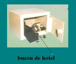 buzón de hotel