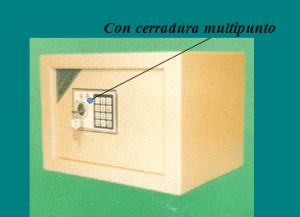 cerradura multipunto