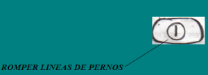 APERTURAS DE CANDADOS: PERNO