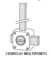 cerrojo multipunto