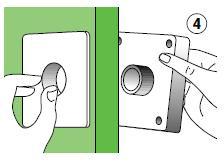 4 instalar cerrojo