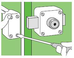 5 instalar cerrojo