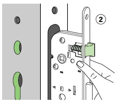 colocar nueva cerradura
