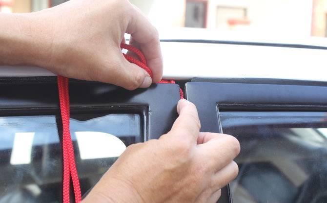como abrir un carro sin llave en 10 segundos