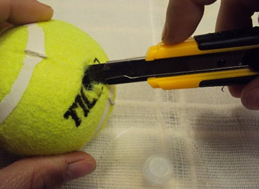 abrir un coche sin llaves metodo pelota tenis