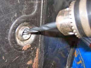 como perforar una cerradura