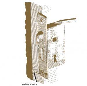 Pasos para instalar cerradura