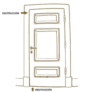 Mantenimiento de una puerta