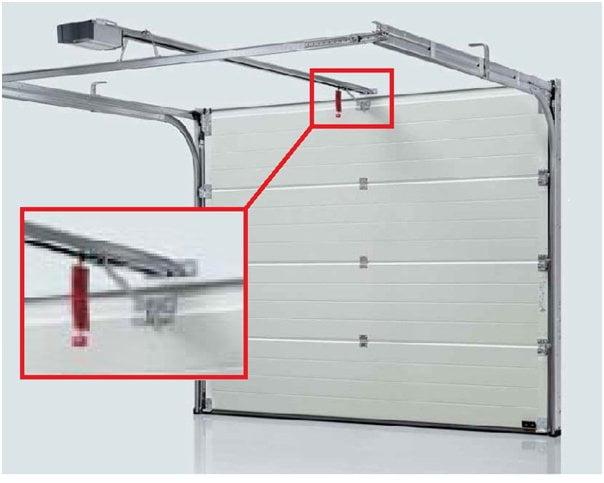 Abrir puertas de garaje manualmente